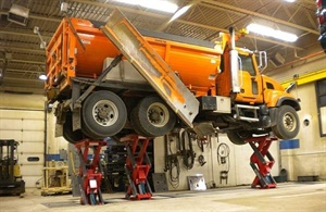 Stertil-Koni says the inground scissor EcoLift is ideal for retrofit and existing workshop. It is relocatable.