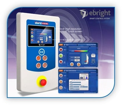 Stertil-Koni now ships battery-operated cabled mobile column lifts with its touch screen control technology, known as the ebright Smart Control System, to customers across North America.