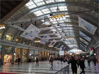 Stockholm's Central Station.