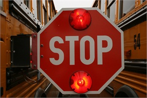 New York school bus drivers in 26 districts found that 259 motorists passed a stopped bus on Feb. 24.  Photo courtesy of Lois Cordes