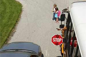 Austin (Texas) Independent School District is partnering with American Traffic Solutions to install stop-arm cameras on its school buses. Photo by Brevard (Fla.) Public Schools