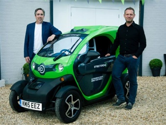 The StreetDrone Xenos platform provides a combination of hardware — including modified Renault Twizy vehicles. Photo: Bestmile