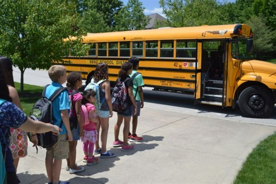 With students heading back to class, the Pennsylvania School Bus Association is calling on motorists to pay extra attention as school buses drive their daily routes. Photo courtesy School Bus Safety Co.