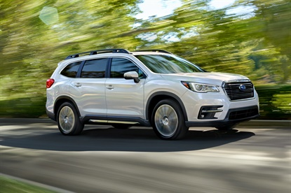 The Subaru Ascent is the vehicle maker's largest vehicle ever, with options for seven- or eight-passenger configurations.