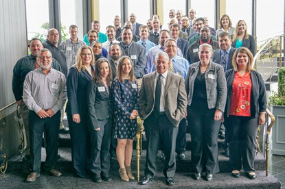 Thirty-five employees recently completed Sullivan Tire's Leadership Development Program, which is designed for employees identified as emerging leaders.