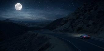A still from a recent Super Bowl car ad.