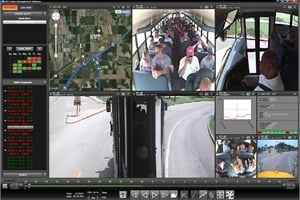 REI's BUS-WATCH viewing software, A.R.M.O.R.-VMS, provides integrated Google mapping technology, a privacy blurring tool and increased recording/storage space.