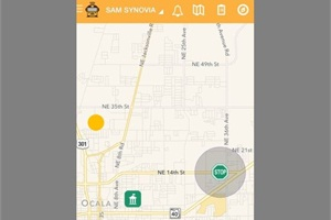 Synovia's new app, Here Comes the Bus, gives parents the real-time location of their child's bus.