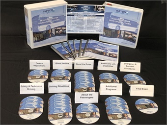 The new TAPTCO course is available on DVD, Thumb Drive, or via the web on a Learning Management System.