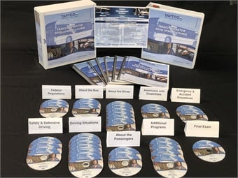 The new TAPTCO course is available on DVD, Thumb Drive, or via the web on a Learning Management System. TAPTCO