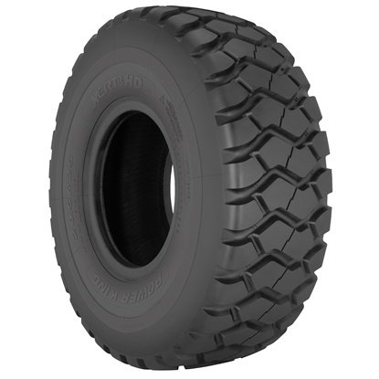 The Power King xERT-HD3 is available in four sizes, and complements the Power King line of value OTR tire products.