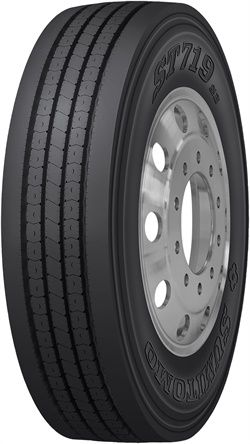 TBC Brands will showcase its newest Sumitomo truck tire, theST719SE, at MATS in Louisville.