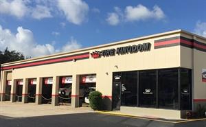 The new Tire Kingdom store is the 4th in Boca Raton, Fla.