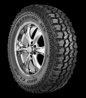TBC says the Mud Claw Extreme MT is an outstanding alternative to much higher priced products in the mud traction segment.