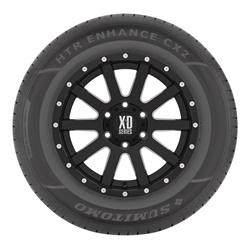 The Sumitomo HTR Enhance CX2 is an update for the C/X tire, which was introduced in 2014.