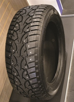 Tire Factory dealers will have access to Point S branded tires beginning in 2016, including this Winter Star ST with an optimized spike sequence that offers good ice grip, reduced noise, and a comfortable drive.