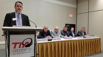 David Martin helms his last TIA meeting as president.