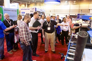 More than 100 companies exhibited at the 2016 North American Tire & Retread Expo.