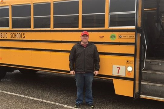 """TJ Updike has been volunteering in a """"Friday Adventures"""" program, which takes middle school students on activities like canoeing and hiking trips."""