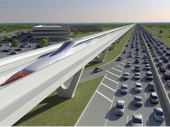 Rendering courtesy The Northeast Maglev