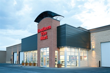 Southern Tire Mart opened a $15 million, eight-bay commercial store in Las Vegas in January 2016. It is the company's westernmost location and only store in Nevada.