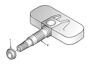 Figure 5: Identifying the pressure sensor grommet.