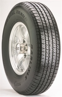East Bay Tire Co. sells the Carlisle and Duro brands of ST tires. The Carlisle Radial Trail RH, which East Bay says provides improved load-carry capacity and lateral stability to reduce trailer sway, is pictured.