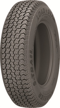 The Kenda Loadstar K550 was designed specifically for trailers. The company says it has a radial tire's appearance and a bias tire's durability. It features longer tread wear, low rolling resistance and increased towing stability.