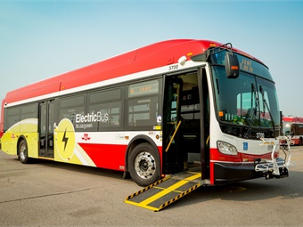 The TTC will have 60 eBuses delivered by the end of Q1 2020. TTC/New Flyer