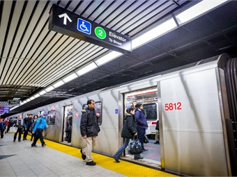 Measuring noise exposure on public (subways, trams and buses) and private (cars, bike, walking) transport in Toronto, the researchers found that while noise on average was within the recommended levels of safe exposure, bursts of loud noise on both public and private modes of transportation could still place individuals at risk of noise-induced hearing loss. Photo: TTC