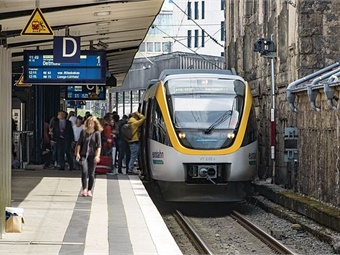Each of the 27 trains can accommodate 24 bicycles and features enlarged entrances, facilitating easier passenger boarding, and alighting.