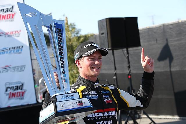 Aaron Telitz is thePro Mazda Champion for 2016.