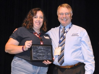Teri Woods was named Trainer of the Year in Idaho.