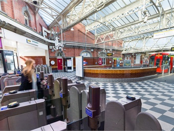 Hammersmith station. TfL