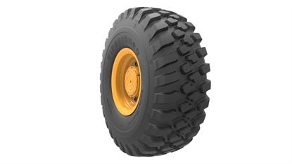 The VersaBuilt All Traction tread is one of three tires in the new Firestone OTR line.