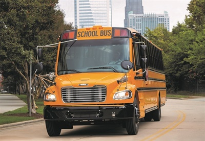 Truck Center Companies is now the official Thomas Built Buses dealer for the state of Iowa. Shown here is the school bus manufacturer's Saf-T-Liner C2. File photo courtesy Thomas Built Buses