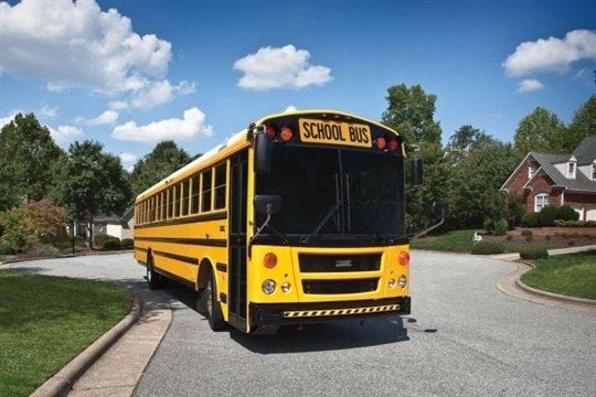 Thomas Built's new campaign presents information about various fuel options for school buses, focusing on advancements in diesel.