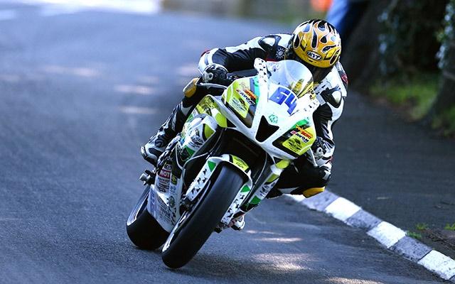 Avon rider Timothee Monot during this year'sLightweight TT.