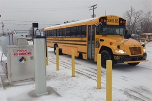 Tippecanoe School Corp. has a fleet of 160 school buses, five of which are powered by propane autogas.