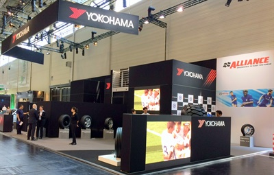 Yokohama displayed its products in style at The Tire Cologne.