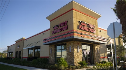 With nearly 190 Tire Kingdom stores in Florida, TBC says more stores will take on the new look in the future.