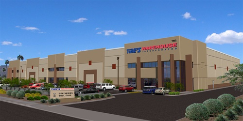 TWI's all-new 83,000-square-foot facility expands the company's total warehouse space to over 600,000 square feet.