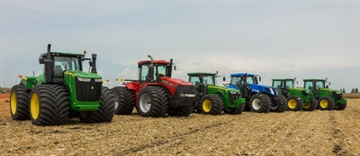 Titan is bringing an equipment rodeo to the 2019 Farm Progress Show. The event will feature LSW tires on various types of farm equipment.