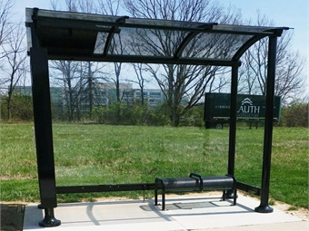 Tolar Manufacturing previously delivered 20 bus shelters for IndyGo through a contract ending December 2017.