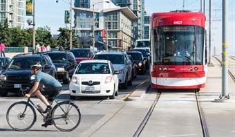 Toronto Streetcar via Shutterstock.