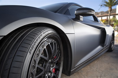 """Toyo's Sonny McDonald says tire manufacturers engage in """"technological warfare"""" to differentiate their UHP products."""