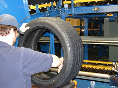Toyo is shutting down tire production in White, Ga., with the plan of restarting production on April 19.