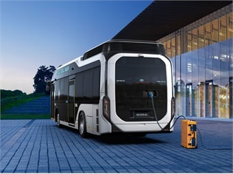 Toyota's Sora fuel cell bus feature a high-capacity external power output device. Photo: Toyota