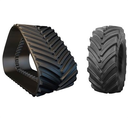 All the manufacturers agree tracks are more expensive to purchase than tires.