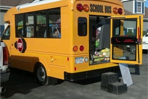 "Trans Tech Bus is collecting non-perishable items to donate to those affected by Hurricane Sandy during a ""Stuff the Bus"" event that will run through Nov. 13."